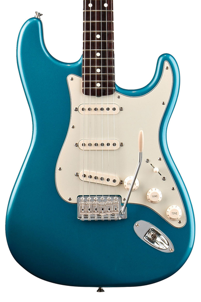 Fender Classic Series 60s Stratocaster with Rosewood Fingerboard - Lake Placid Blue