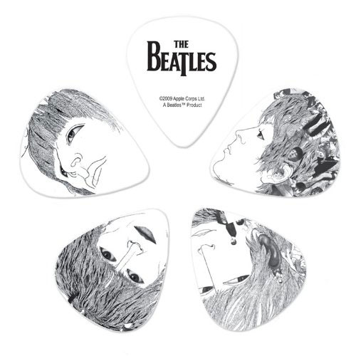 Planet Waves Beatles Revolver 10-Pack Heavy Guitar Picks - Bananas at Large - 1