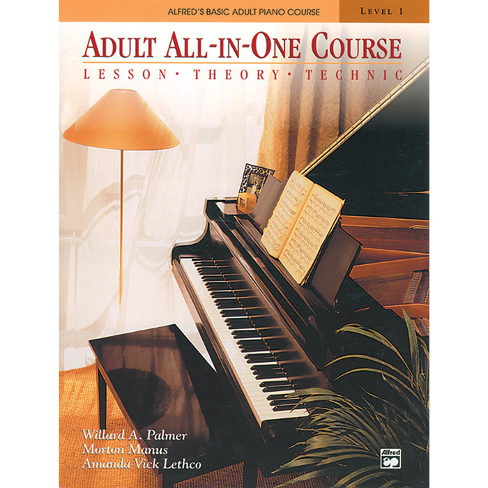 Alfred Basic Adult All-in-One Course Book 1 - Book & DVD