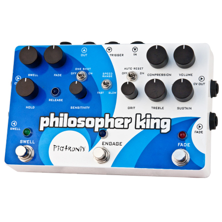 Pigtronix Philospher King Envelope Generator Sustainer Pedal - Bananas at Large