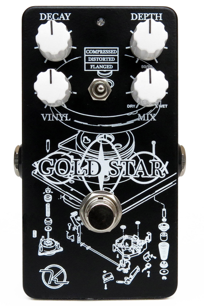 Keeley Gold Star Reverb - Bananas at Large
