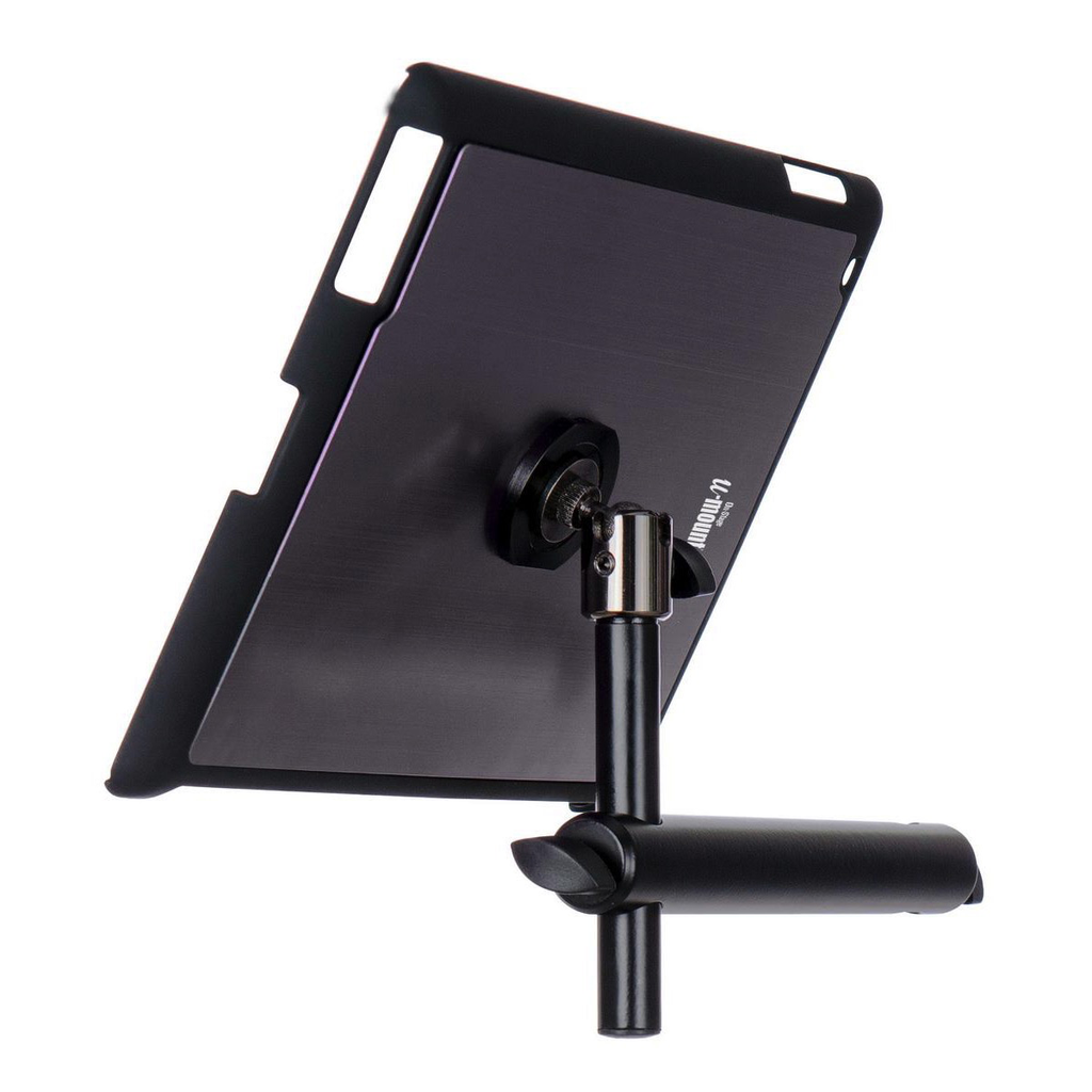 On-Stage TCM9160GM iPad Snap-On Cover With Mounting Bar - Gun Metal - Bananas at Large - 1