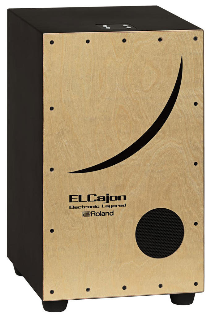 Roland EC-10 El Cajon Electronic Layered Hybrid Cajon - Bananas at Large