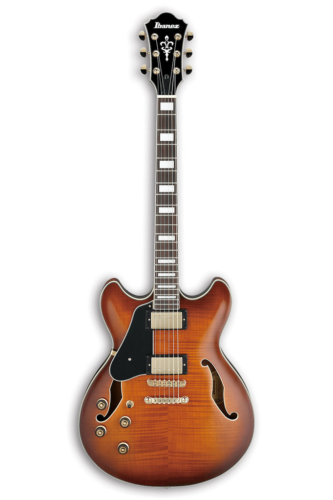 Ibanez AS93L Artcore Expressionist Series Semi-Hollow Body Left Handed Guitar - Violin Sunburst - Bananas At Large®
