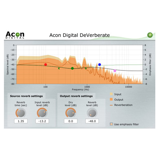 Acon DeVerberate Professional Reverb Adjustment Tool [Download] - Bananas At Large®