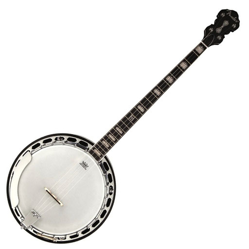 Fender Robert Schmidt Banjo, Plectrum, Rosewood Fingerboard, Walnut Stain - Bananas At Large®