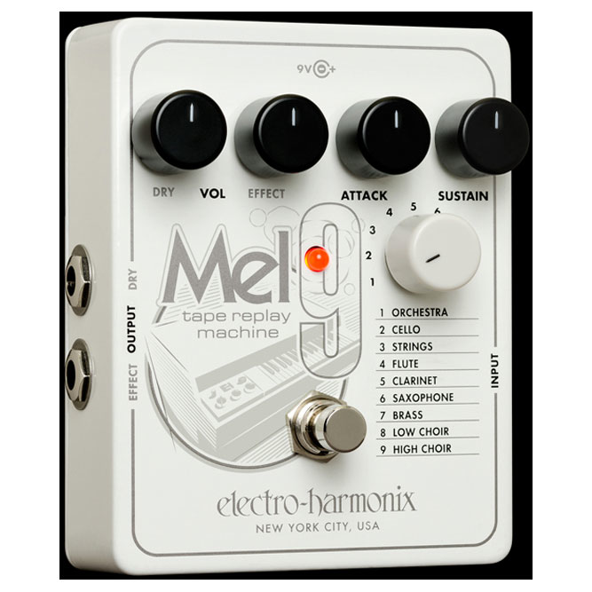 Electro-Harmonix MEL9 Tape Replay Machine Pedal - Bananas at Large