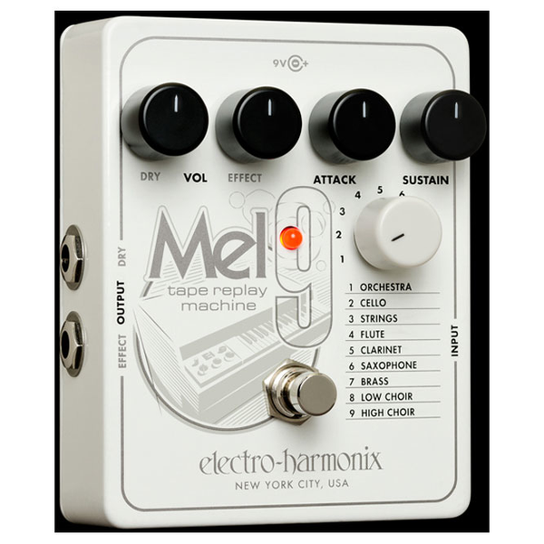 Electro-Harmonix MEL9 Tape Replay Machine Pedal - Bananas At Large®
