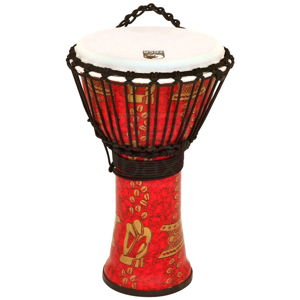 Toca Freestyle II Rope-tuned Djembe 10 in. Thinker - Bananas at Large