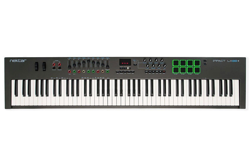 Nektar Impact LX88+ 88-Note Keyboard Controller - Bananas at Large - 1