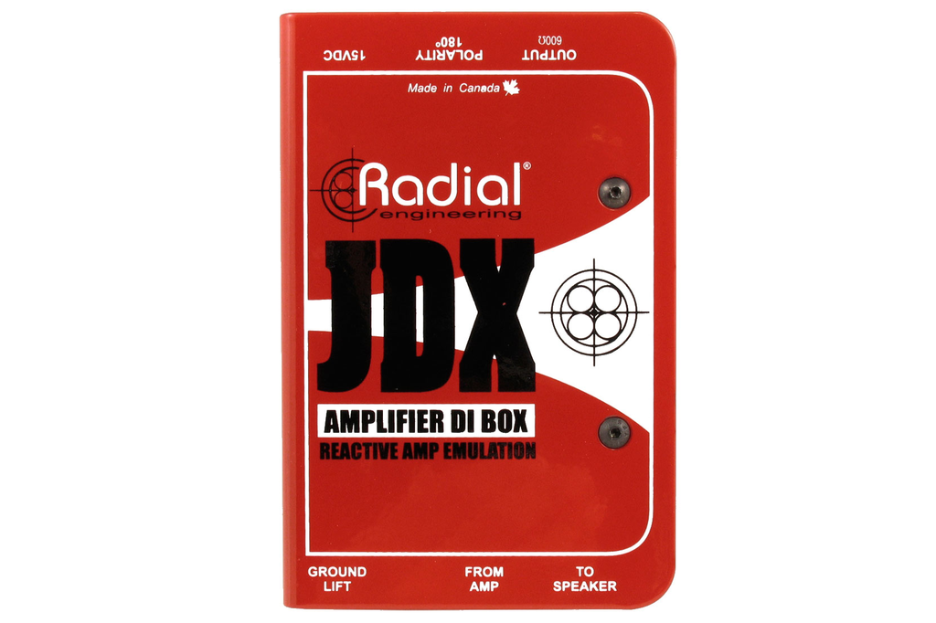 Radial JDX Reactor Amplifier Direct Box