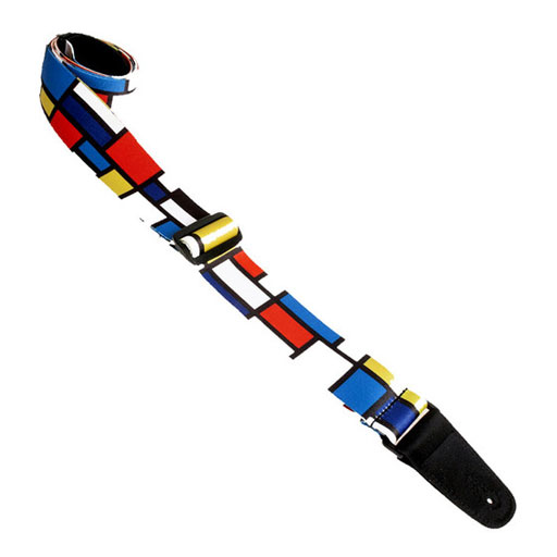 Henry Heller HSUB2-06 Polyester 2 in. Sublimation Printed Guitar Strap - Bananas At Large®