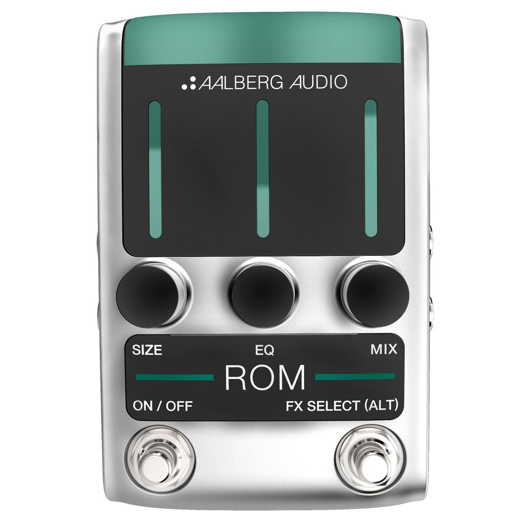 Aalberg ROM RO-1 Reverb Pedal - Bananas at Large