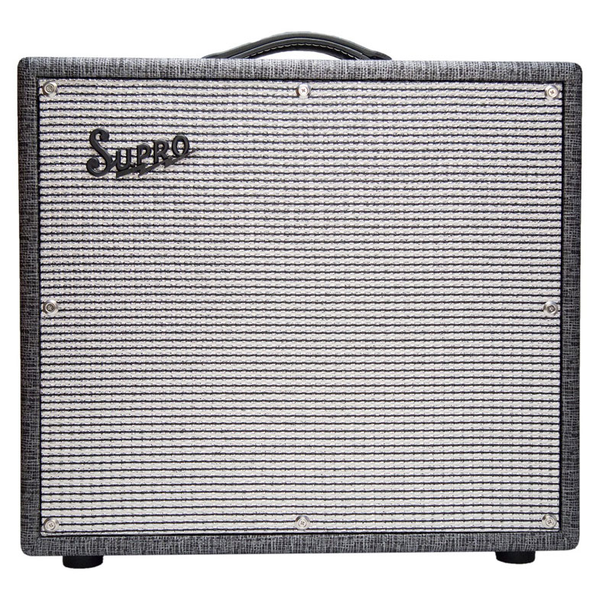 Supro 1695T Black Magick 25 Watt Combo Amp - Bananas at Large - 1