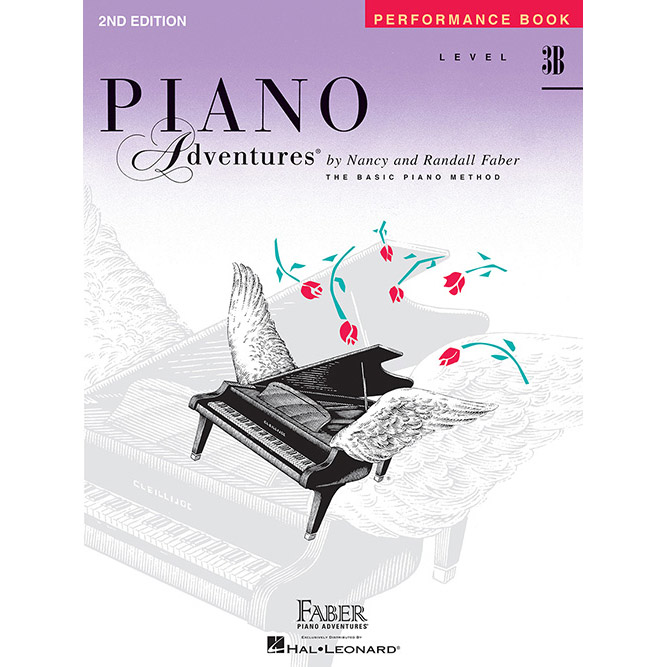 Hal Leonard Piano Adventures Level 3B Peformance Book 2nd Edition - Bananas At Large®