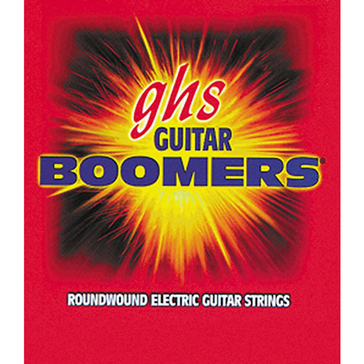 GHS GB-LOW Boomers Low Tuned Roundwound Electric Guitar Strings - Bananas At Large®