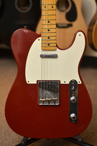 Fender Custom Shop Limited Edition 1955 Telecaster Journeyman Relic - Cimarron Red