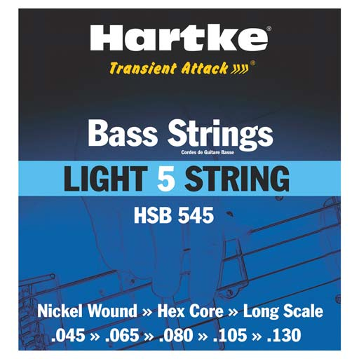 Hartke Light 5 String Single Pack .045, .065, .080, .105, .130 - Bananas At Large®