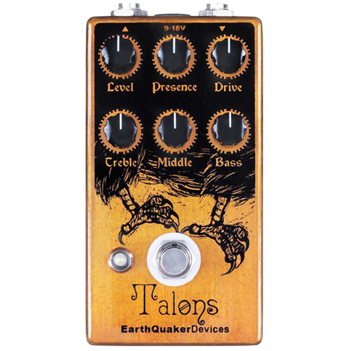 Earthquaker Devices Talons High Gain Overdrive Pedal - Bananas At Large®