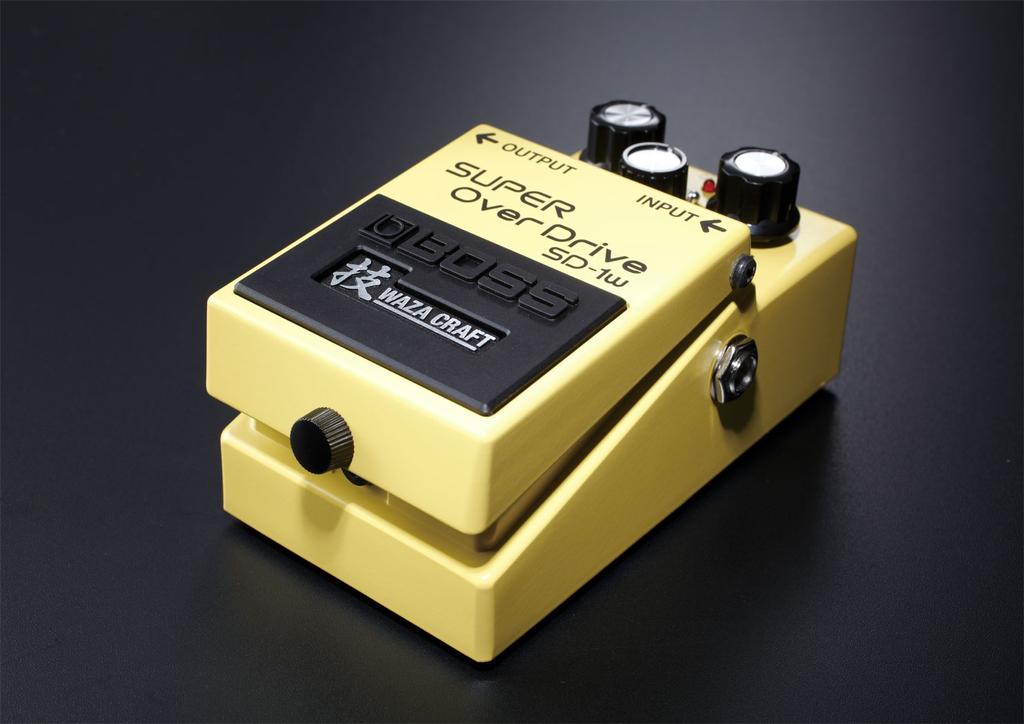 Boss SD-1W Super Overdrive Waza Craft Special Edition Pedal - Bananas at Large - 2