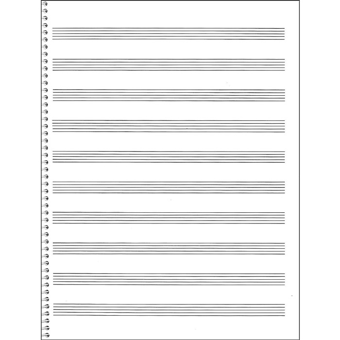 Hal Leonard 75 Spiral Book 12-Stave - Bananas At Large®