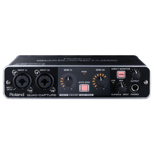 Roland UA-55 QUAD-Capture USB 2.0 Audio Interface - Bananas at Large