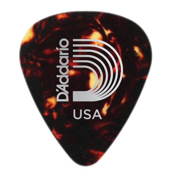 Planet Waves 1CSH6-10 Heavy Classic Celluloid Shell Color 10-Pack Guitar Picks - Bananas at Large