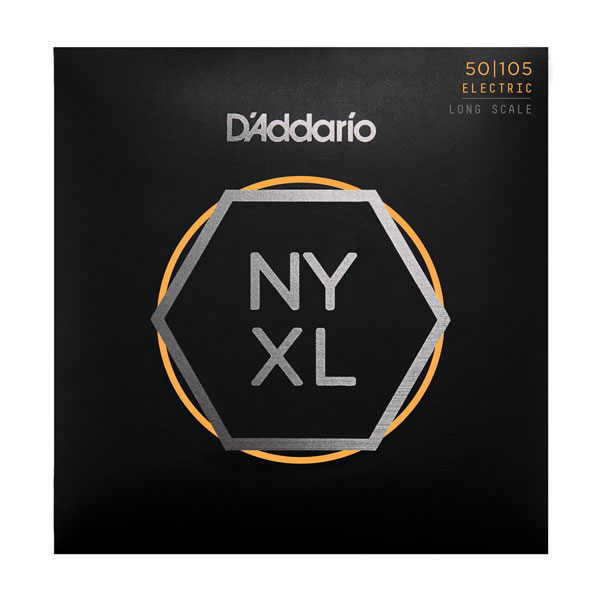 D'Addario NYXL50105 Long Scale Medium Electric Bass Strings 50-105 - Bananas At Large®