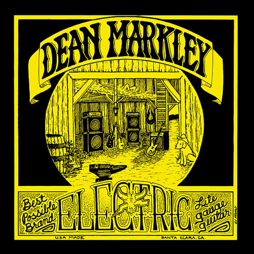Dean Markley 1972 Vintage Electric Guitar Strings - Light - Bananas At Large®