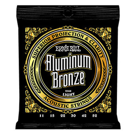 Ernie Ball Aluminum Bronze Acoustic Guitar Strings Light Gauge - Bananas At Large®