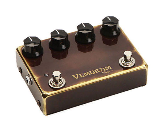 Vemuram Rage e Long Sustain Overdrive Distortion Pedal