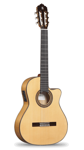 Alhambra 7FC-CT Flamenco Cutaway Acoustic Electric Guitar - Bananas at Large - 1