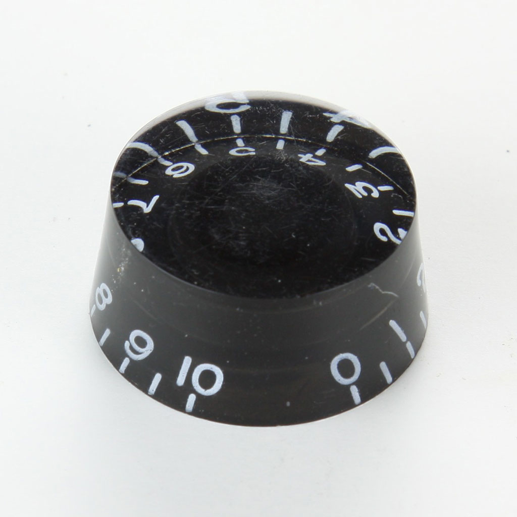 Strukture SSKN002BK Vintage Style Speed Knobs - Black - Bananas at Large