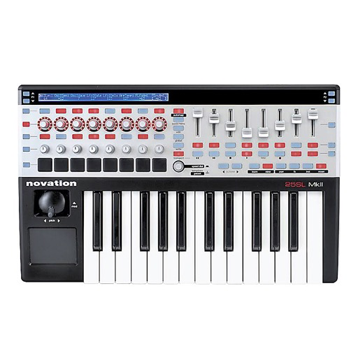 Novation 25SL MkII 25 Key MIDI Controller - Bananas at Large - 1