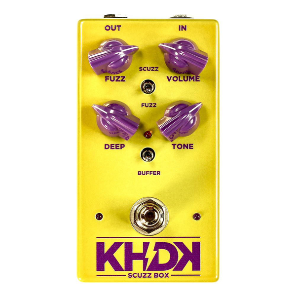 KHDK The Scuzz Box Germanium-Voiced Fuzz Pedal - Bananas At Large®
