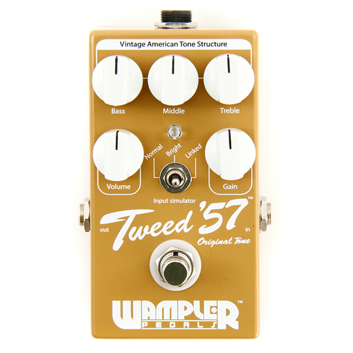 Wampler Tweed 57 Overdrive Guitar Effects Pedal - Bananas at Large