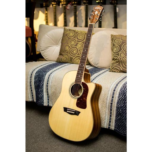 Washburn Limited Edtion Spruce and Koa Acoustic-Electric Guitar - Bananas at Large