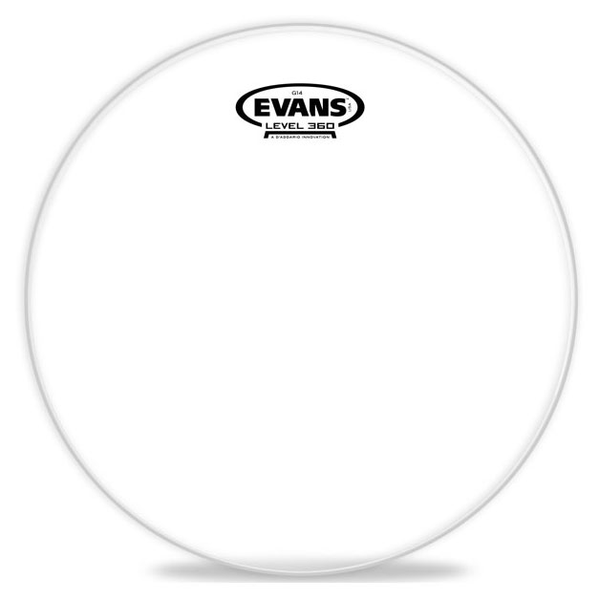 Evans TT18G14 18 in. G14 Clear Tom Drum Head - Bananas At Large®