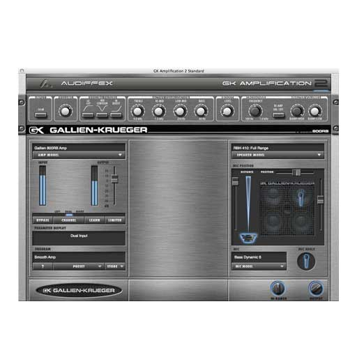 Audiffex Gallien-Krueger Amp 2 Pro [Download] - Bananas At Large®