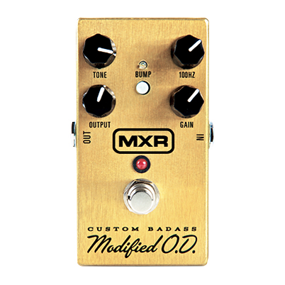 MXR M77 Custom Badass Modified Overdrive Pedal - Bananas at Large
