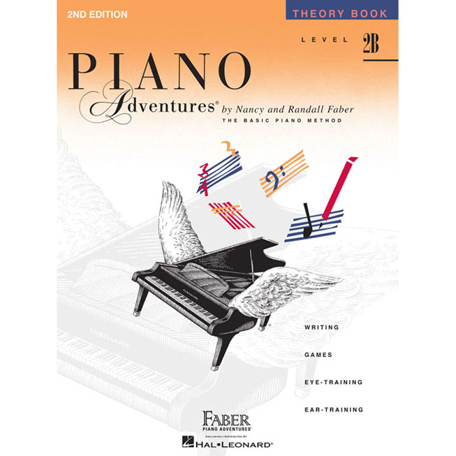Hal Leonard Piano Adventures Level 2B Theory Book 2nd Edition - Bananas At Large®
