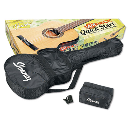 Ibanez IJC30 3/4 Scale Classic Guitar Starter Pack, Natural - Bananas At Large®