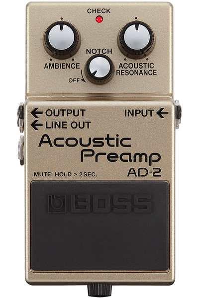 Boss AD-2 Acoustic Preamp Pedal - Bananas at Large