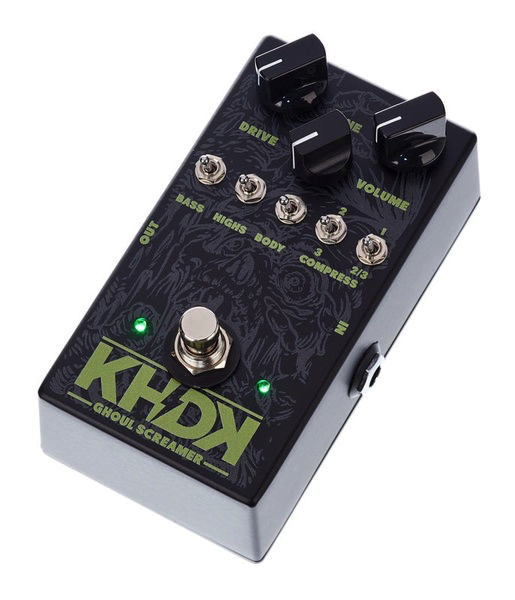 KHDK Kirk Hammett Signature Ghoul Screamer Handmade Overdrive Pedal - Bananas At Large®