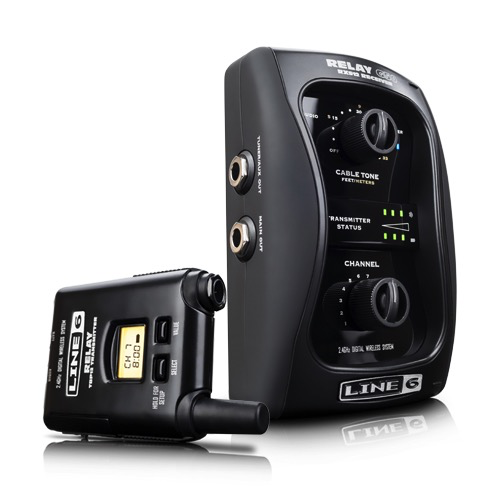 Line 6 Relay G50 12 Channel 2.4 GHz Digital Guitar Wireless System with Pro-Stompbox Receiver - Bananas at Large
