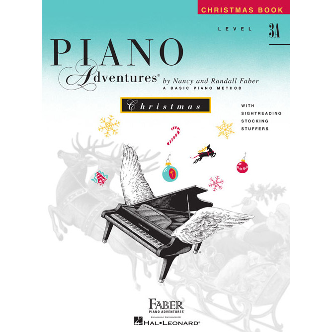 Hal Leonard Piano Adventures Level 3A Christmas Book - Bananas At Large®