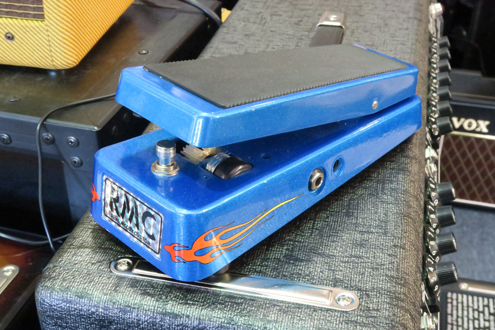 Real McCoy Joe Walsh Signature Model Wah Pedal (Pre-Owned) - Bananas at Large - 2