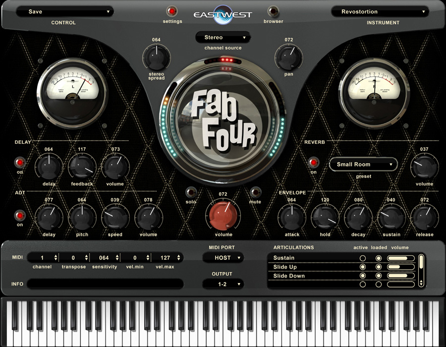 EastWest Fab Four Virtual Instruments [Download]