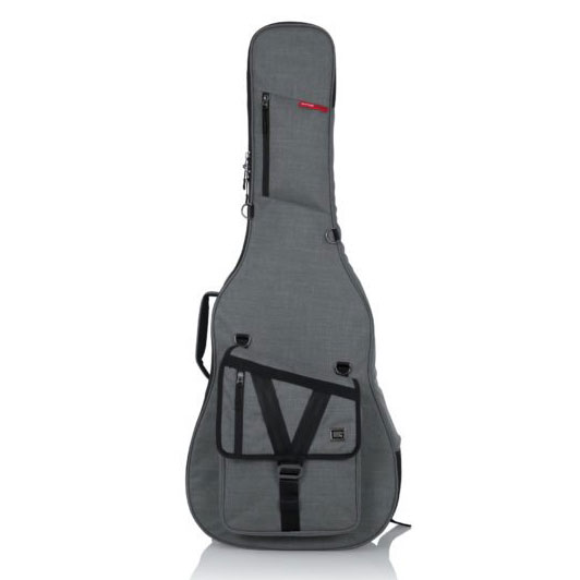 Gator Transit Series Acoustic Guitar Bag - Light Grey