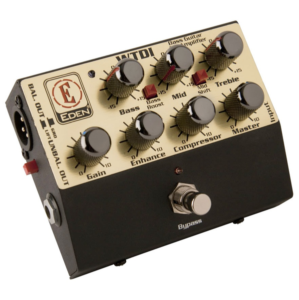 Eden WTDI Bass World Tour Direct Box Preamp Pedal - Bananas At Large®